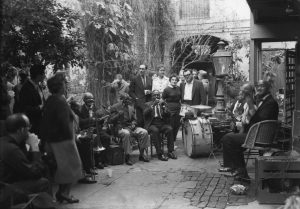 Preservation Hall History - Courtyard Jam Session circa 1960