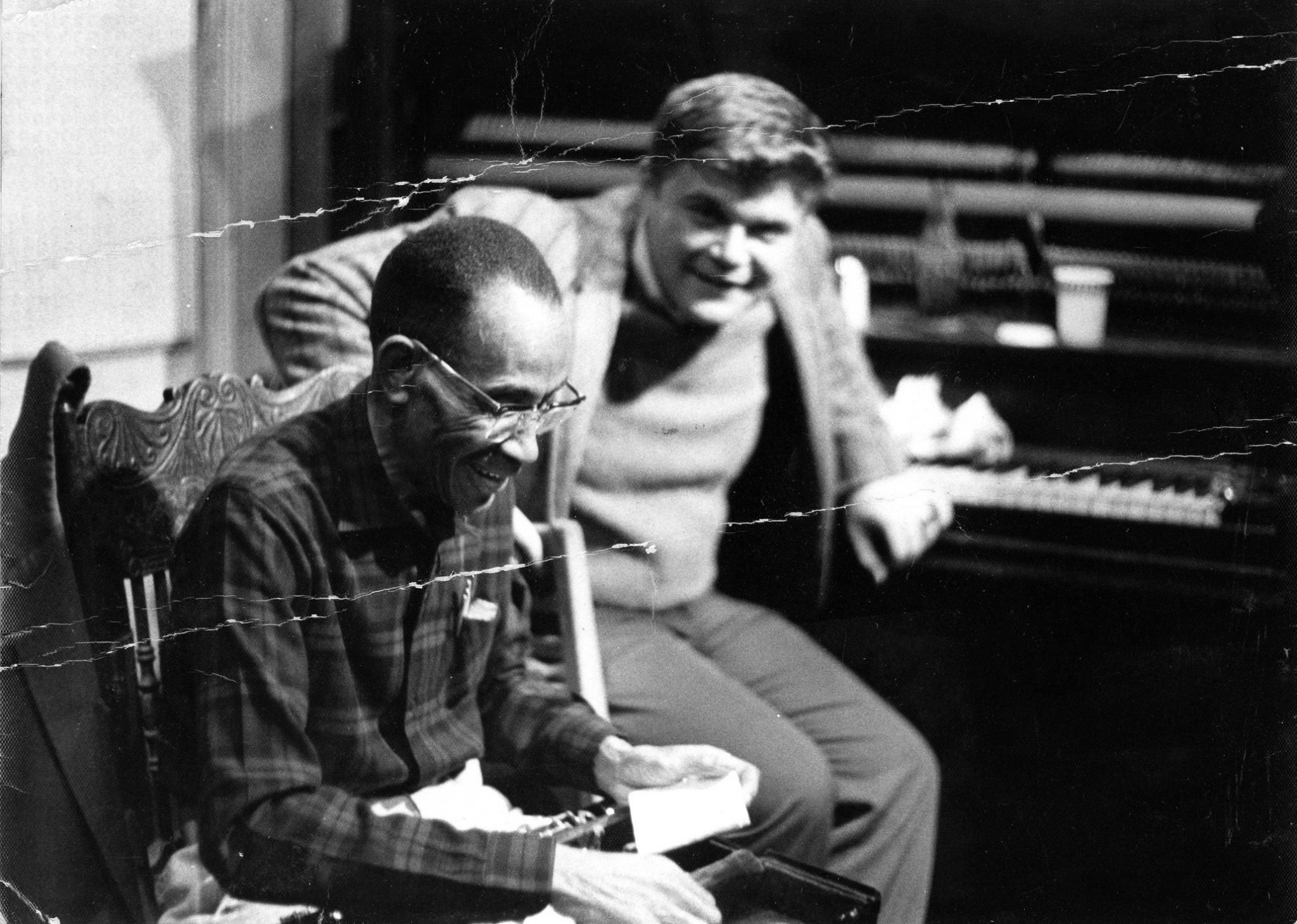 George Lewis and Allan Jaffe photo by Grauman Marks